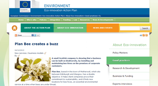 Eco-innovation Action Plan