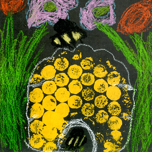 Drawing from a child - Calside Primary School - Plan Bee Ltd