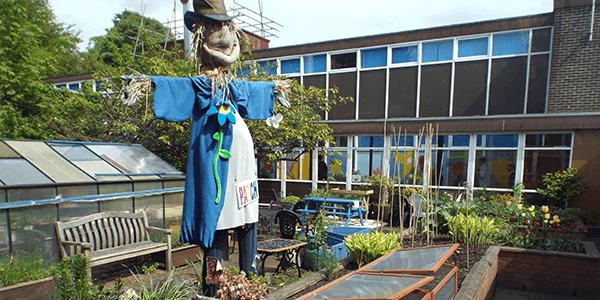 Eco Garden at Kilpatrick School Clydebank - Plan Bee Ltd