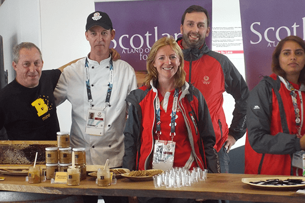 Athletes Village - Scotland Food & Drink - Plan Bee Ltd