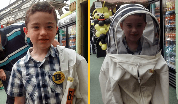 Bee themed family fun day at Amazonia - Plan Bee Ltd 2