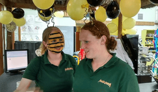 Bee themed family fun day at Amazonia - Plan Bee Ltd