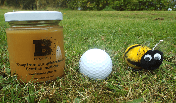 Plan Bee honey is par for the course - Ryder Cup 2014 - Plan Bee Ltd