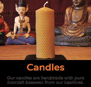 Scottish Beeswax Candles - Plan Bee Ltd