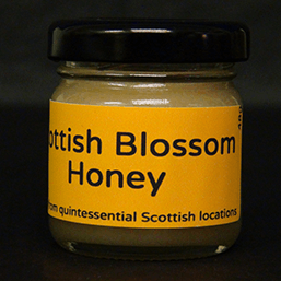 Scottish Blossom Set Honey - 48g 4 - Plan Bee Ltd