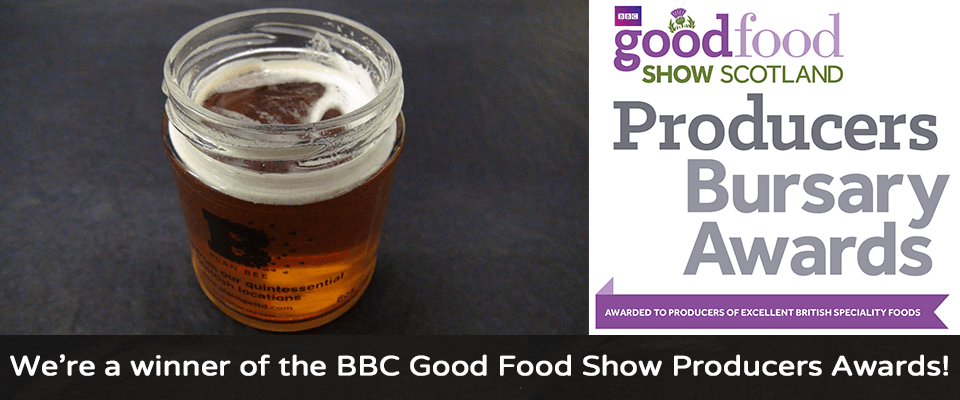 We are a winner of the BBC Good Food Show Producers Awards - Plan Bee Ltd