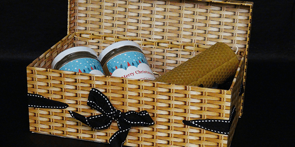 Christmas Wicker Box - Plan Bee Ltd