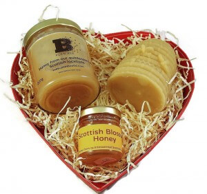 Plan Bee Ltd Red Heart Gift Box