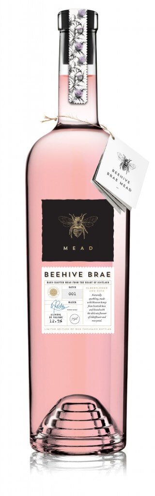 Beehive Brae Mead Bottle